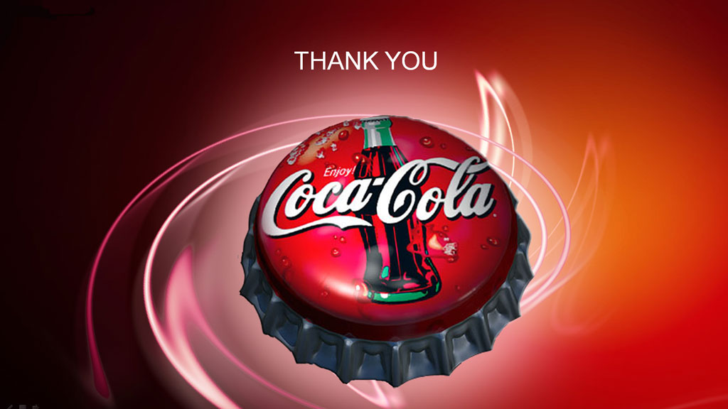 coca-cola powerpoint template -, Modern powerpoint