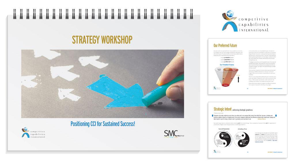 Workshop collateral - Strategy workshop delegate handbook