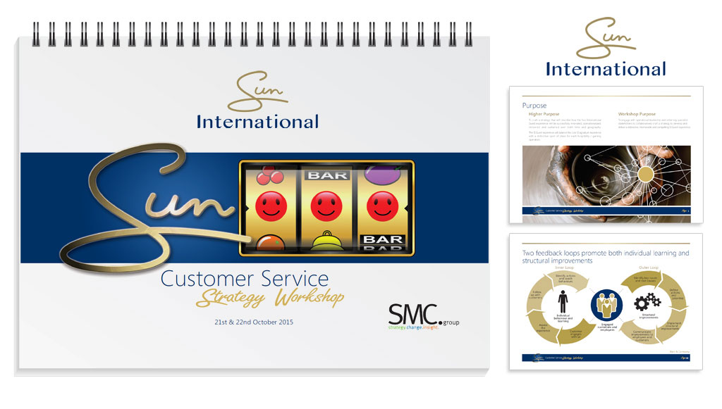 Sun International Customer Service Strategy Workbook
